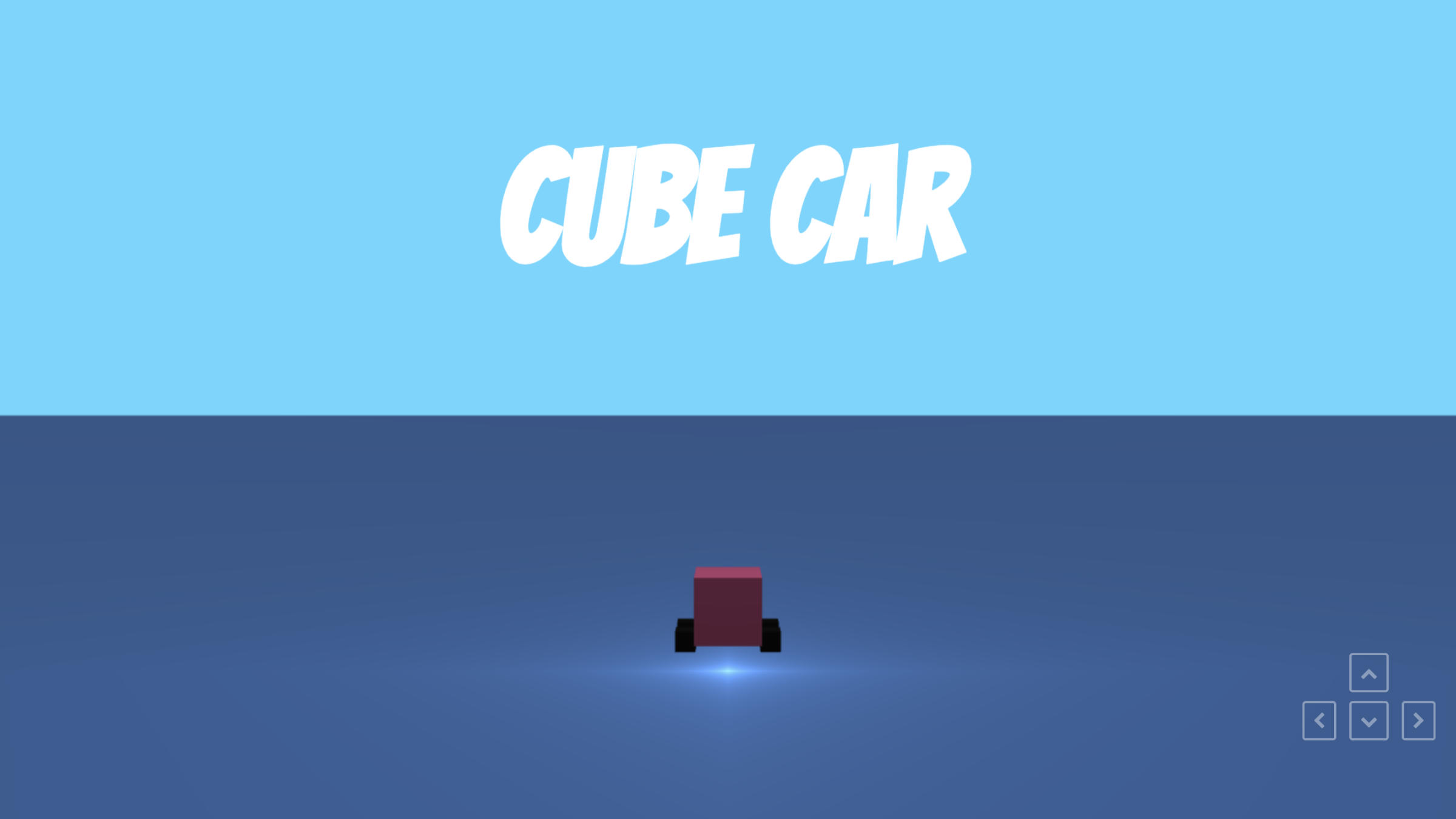 Cube Car – A foray into programming **graphics shaders** using **WebGL** by Xander Gottlieb