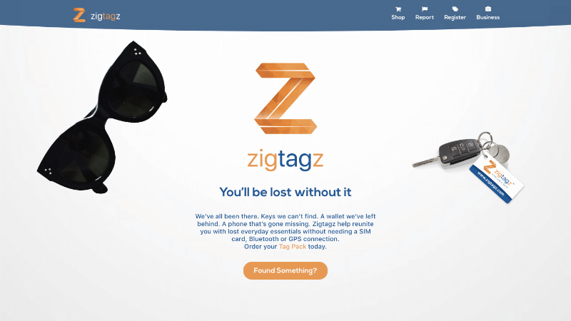 Zigtagz – a website in Xander Gottlieb's design & development portfolio